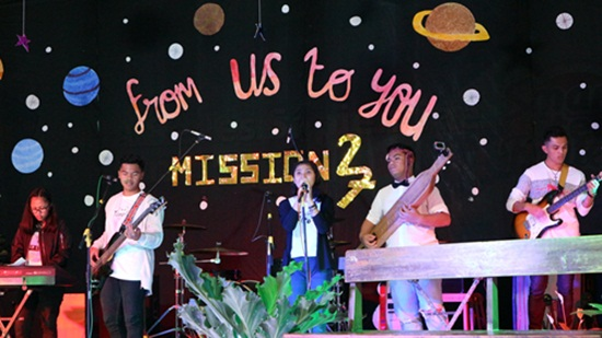 PENTAS  SENI    MISSION 27  FROM US TO YOU ( ANGKATAN 27)